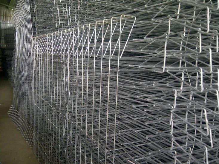 Produsen Pagar Besi BRC Hot Dip Galvanis Tinggi 90cm Sampai 190cm Surabaya