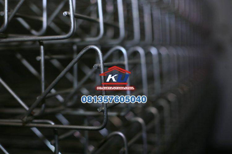 Distributor Pagar Brc Murah Ready Galvanis Mengkilap SNI Free Bolt