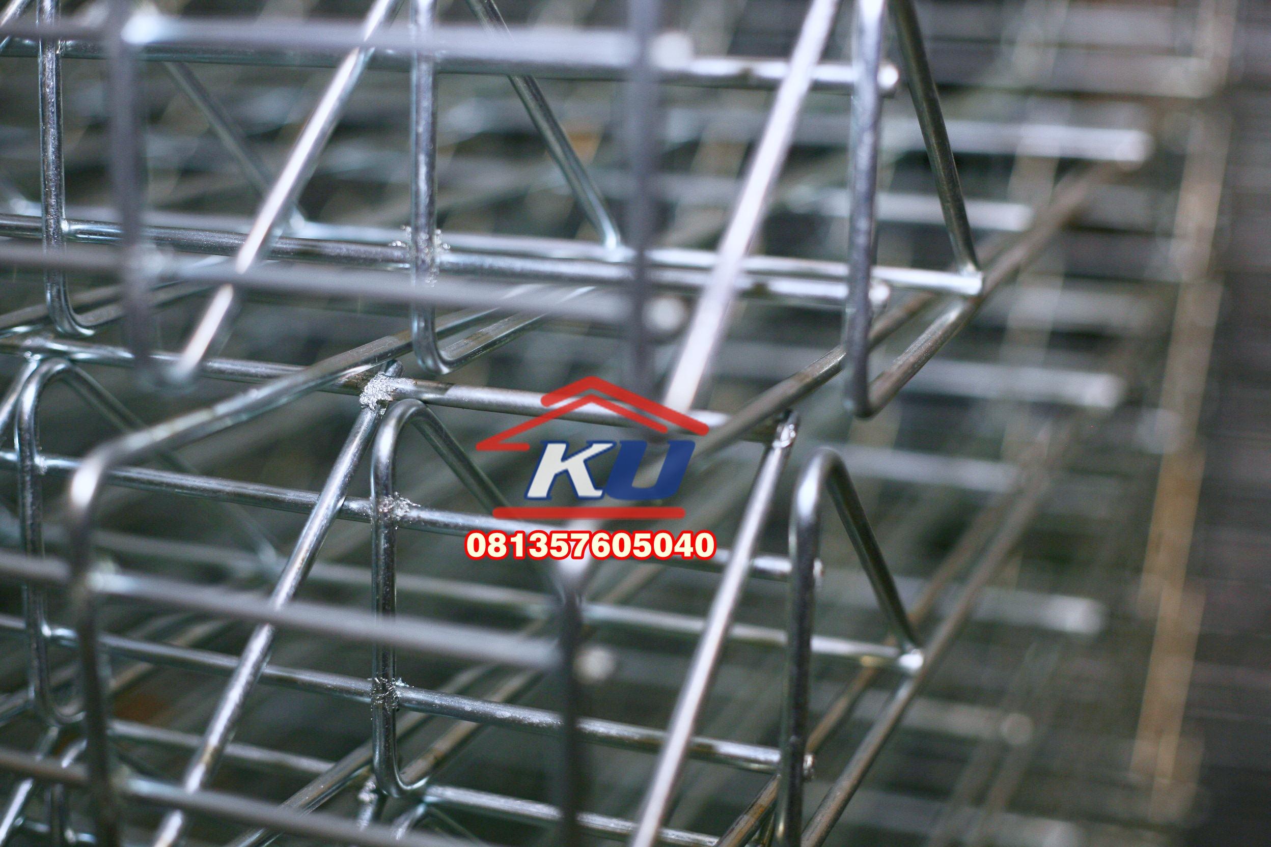 Pagar BRC Galvanis Murah Ready Tinggi 120 Diameter 7 mm SNI