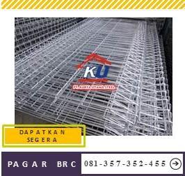 Distributor Pagar Brc Harga Murah Ready Stock Galvanis Hotdeep Dan Electroplating