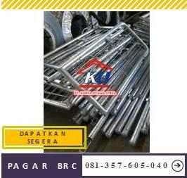 Distributor Pagar BRC Hotdeep Galvanis Murah
