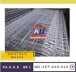 Jual Pagar BRC Murah Ready Tinggi 150 cm Galvanis Anti Korosi